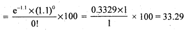 2nd PUC Statistics Question Bank Chapter 5 Theoretical Distribution - 127