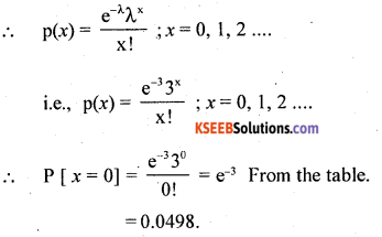 2nd PUC Statistics Question Bank Chapter 5 Theoretical Distribution - 32