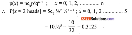 2nd PUC Statistics Question Bank Chapter 5 Theoretical Distribution - 38