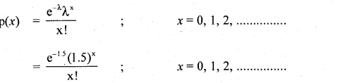 2nd PUC Statistics Question Bank Chapter 5 Theoretical Distribution - 51