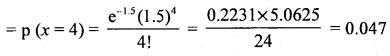 2nd PUC Statistics Question Bank Chapter 5 Theoretical Distribution - 52
