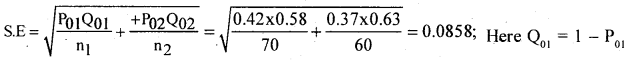 2nd PUC Statistics Question Bank Chapter 6 Statistical Inference - 2
