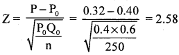 2nd PUC Statistics Question Bank Chapter 6 Statistical Inference - 48