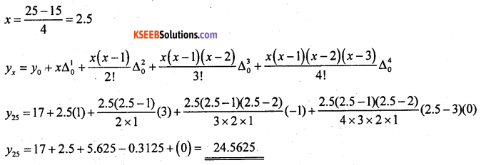 2nd PUC Statistics previous year Question paper June 2015 - 17