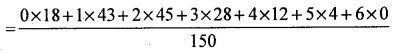 2nd PUC Statistics Question Bank Chapter 6 Statistical Inference - 183