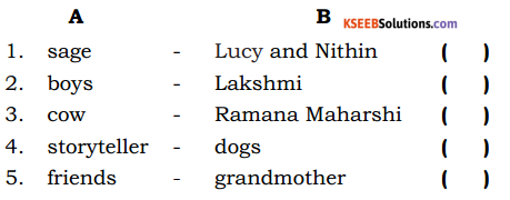 Love For Animals 5th Standard Lesson Question Answer