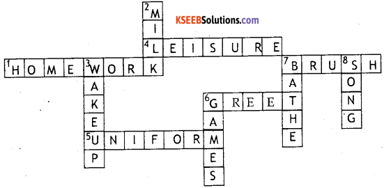 KSEEB Solutions for Class 8 English Supplementary Chapter 20 Study Skills 6