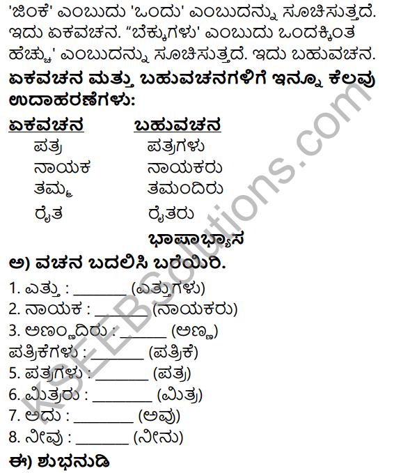 Siri Kannada Text Book Class 5 Solutions Gadya Chapter 3 Namma Mathu Keli 6