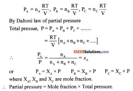 1st PUC Chemistry Model Question Paper 1 with Answers - 10
