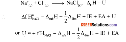 1st PUC Chemistry Model Question Paper 1 with Answers - 11