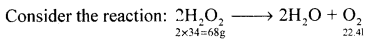 1st PUC Chemistry Model Question Paper 1 with Answers - 8