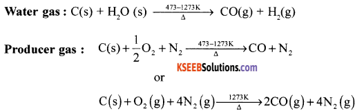 1st PUC Chemistry Model Question Paper 3 with Answers - 1