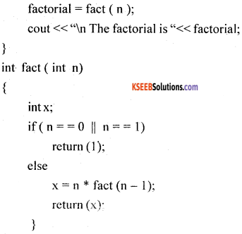 1st PUC Computer Science Previous Year Question Paper March 2016 (North) part D img 6