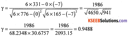 1st PUC Statistics Model Question Paper 3 with Answers - 10