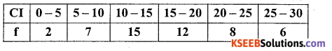 1st PUC Statistics Model Question Paper 3 with Answers - 34
