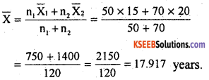 1st PUC Statistics Previous Year Question Paper March 2019 (South) - 5