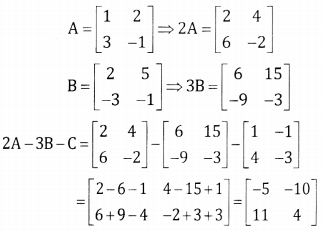 2nd PUC Basic Maths Question Bank Chapter 1 Matrices and Determinants Ex 1.1 - 11