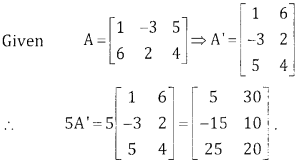 2nd PUC Basic Maths Question Bank Chapter 1 Matrices and Determinants Ex 1.1 - 2