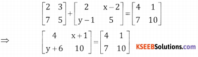 2nd PUC Basic Maths Question Bank Chapter 1 Matrices and Determinants Ex 1.1 - 29