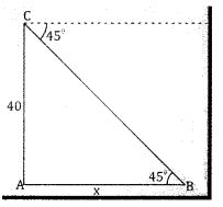 2nd PUC Basic Maths Question Bank Chapter 13 Heights And Distances Ex 13.1 - 3