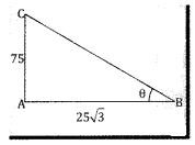 2nd PUC Basic Maths Question Bank Chapter 13 Heights And Distances Ex 13.1 - 5