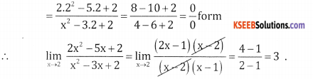 2nd PUC Basic Maths Question Bank Chapter 17 Limit and Continuity 0f a Function Ex 17.1 - 17