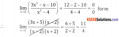 2nd PUC Basic Maths Question Bank Chapter 17 Limit and Continuity 0f a Function Ex 17.1 - 19
