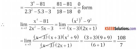 2nd PUC Basic Maths Question Bank Chapter 17 Limit and Continuity 0f a Function Ex 17.1 - 21