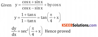 2nd PUC Basic Maths Question Bank Chapter 18 Differential Calculus Ex 18.2 - 9