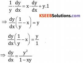 2nd PUC Basic Maths Question Bank Chapter 18 Differential Calculus Ex 18.4 - 3