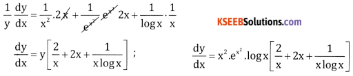 2nd PUC Basic Maths Question Bank Chapter 18 Differential Calculus Ex 18.5 - 3
