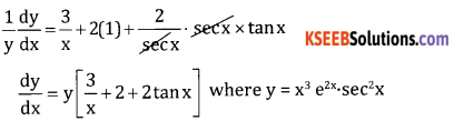 2nd PUC Basic Maths Question Bank Chapter 18 Differential Calculus Ex 18.5 - 8