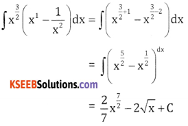2nd PUC Basic Maths Question Bank Chapter 20 Indefinite Integrals Ex 20.1 - 3