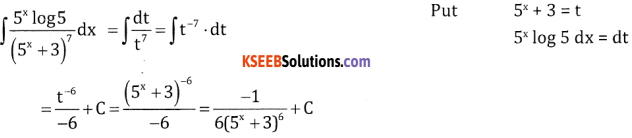 2nd PUC Basic Maths Question Bank Chapter 20 Indefinite Integrals Ex 20.4 - 10