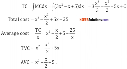 2nd PUC Basic Maths Question Bank Chapter 21 Definite Integral and its Applications to Areas Ex 21.3 - 3