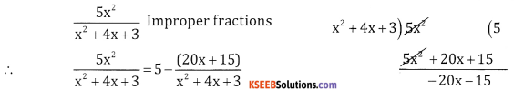 2nd PUC Basic Maths Question Bank Chapter 5 Partial Fractions Ex 5.1 - 4