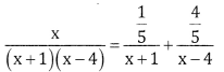 2nd PUC Basic Maths Question Bank Chapter 5 Partial Fractions Ex 5.2 - 2