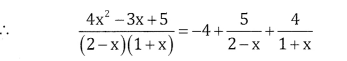 2nd PUC Basic Maths Question Bank Chapter 5 Partial Fractions Ex 5.2 - 26