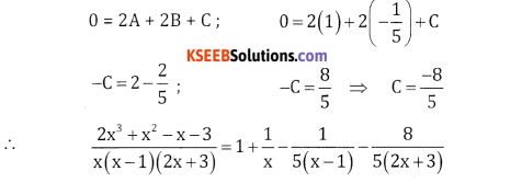 2nd PUC Basic Maths Question Bank Chapter 5 Partial Fractions Ex 5.2 - 32