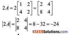 2nd PUC Maths Model Question Paper 3 with Answers 2