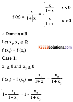 2nd PUC Maths Question Bank Chapter 1 Relations and Functions Miscellaneous Exercise 2