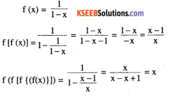 2nd PUC Maths Question Bank Chapter 1 Relations and Functions Miscellaneous Exercise 9