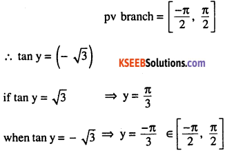 2nd PUC Maths Question Bank Chapter 2 Inverse Trigonometric Functions Ex 2.1 5
