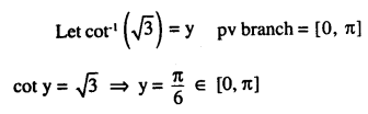 2nd PUC Maths Question Bank Chapter 2 Inverse Trigonometric Functions Ex 2.1 9