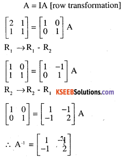 2nd PUC Maths Question Bank Chapter 3 Matrices Ex 3.4 3