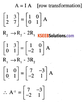 2nd PUC Maths Question Bank Chapter 3 Matrices Ex 3.4 4