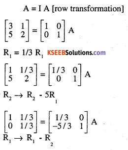 2nd PUC Maths Question Bank Chapter 3 Matrices Ex 3.4 9