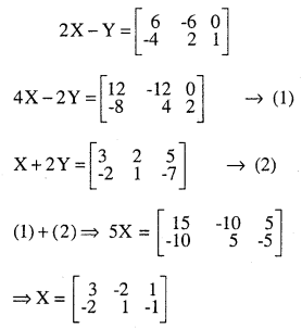 2nd PUC Maths Question Bank Chapter 3 Matrices Miscellaneous Exercise 19