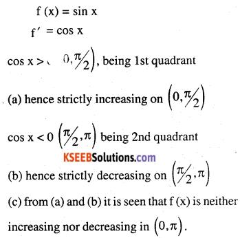 2nd PUC Maths Question Bank Chapter 6 Application of Derivatives Ex 6.2.1
