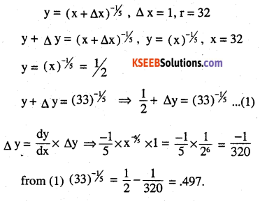2nd PUC Maths Question Bank Chapter 6 Application of Derivatives Miscellaneous Exercise 3